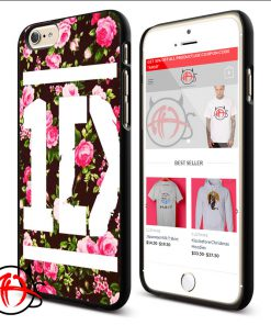 One Direction Floral Protective Phone Cases