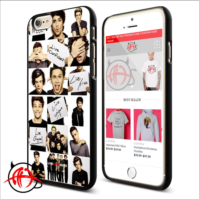 One Direction Live Love More Protective Phone Cases For iPhone 7, iPhone 6, iPhone 5 And Samsung