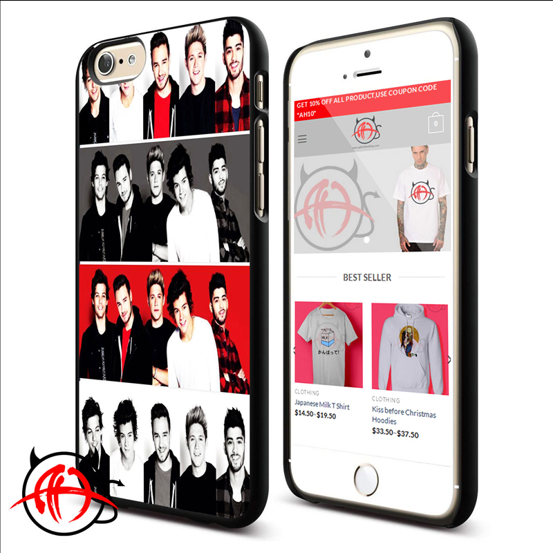 One Direction Collage Protective Phone Cases For iPhone 7, iPhone 6, iPhone 5 And Samsung