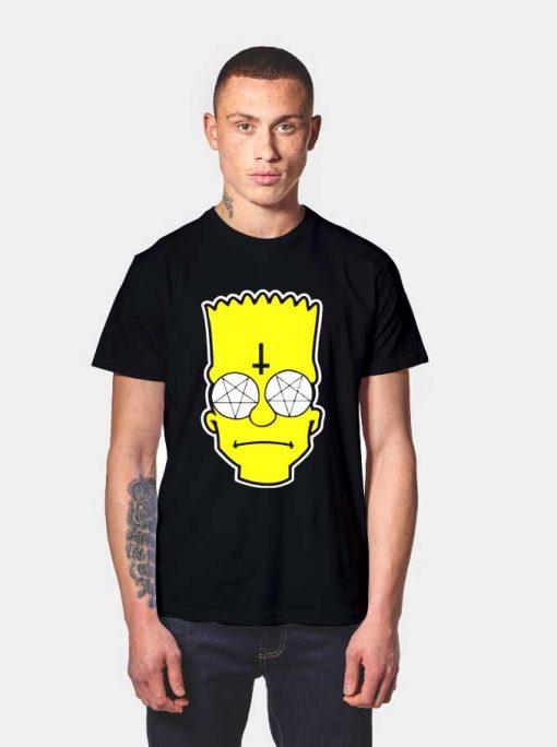 Simpson Satanic T Shirt