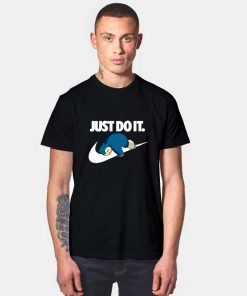 Snorlax Just Do It Later T Shirt