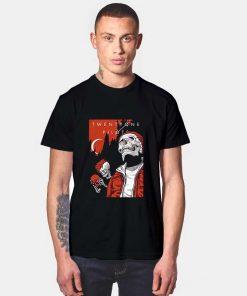 Alien And Skull Twenty One Pilots T Shirt