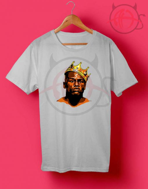 Floyd The Crown King Mayweather T Shirt