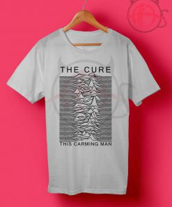The Cure This Carming Man Joy Division T Shirt
