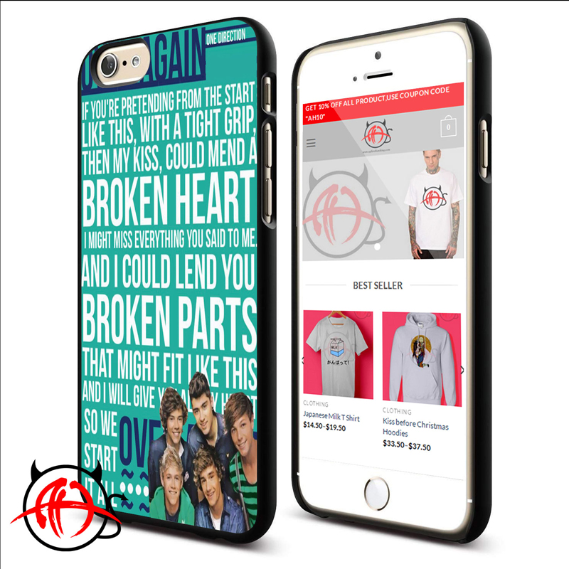 1D Over Again Protective Phone Cases