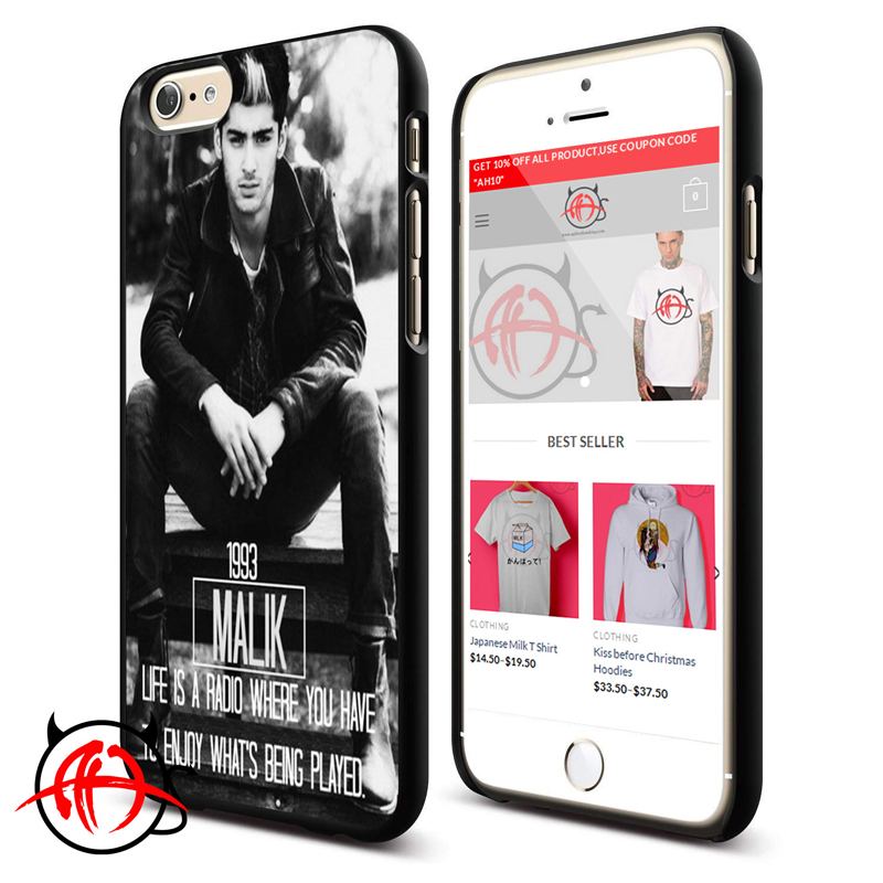 1D Zayn Malik Quote Protective Phone Cases