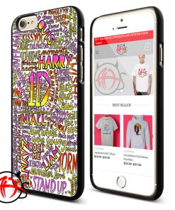 1D Quote Collage Protective Phone Cases
