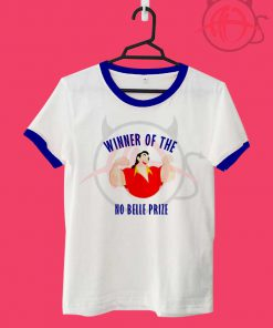 Beauty And The Beast No Belle Prize Gaston Unisex Ringer T Shirt