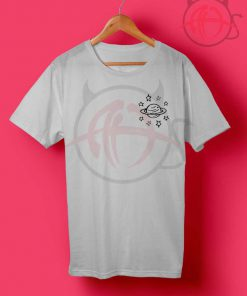 Planet And Stars Universe T Shirt