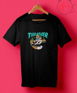 Thrasher Old Girl Moto T Shirt