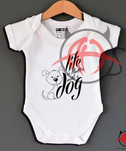 Better With A Dog Baby Onesie