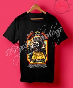 Guardians of the Galaxy Retro Poster T Shirt