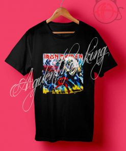 Iron Maiden Number Of The Beast Black T Shirt