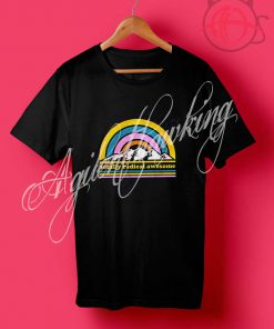 Totally Radical Awesome Mountains T Shirt