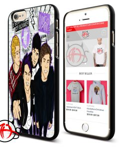 5 SOS Dont Stop Collage Protective Phone Cases Trend