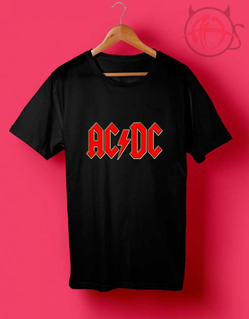 ACDC Personalized T Shirt