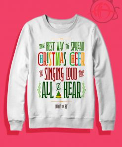 Buddy Elf Christmas Cheer Crewneck Sweatshirt