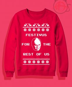 Festivus Ugly Holiday Crewneck Sweatshirt