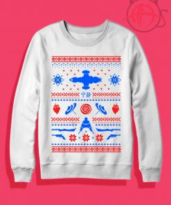 Shiny Christmas Ugly Crewneck Sweatshirt