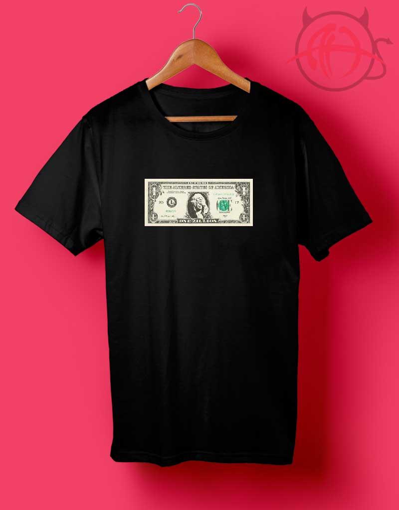 Supreme Zillion Dollar T-Shirt Kids Adults