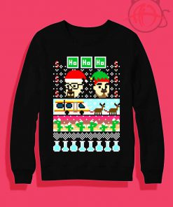 Breaking Christmas Ugly Crewneck Sweatshirt