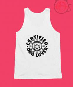 Certified Dog Lover Unisex Tank Top