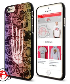 5 SOS Paramore Arctic Monkey Collage Phone Cases Trend