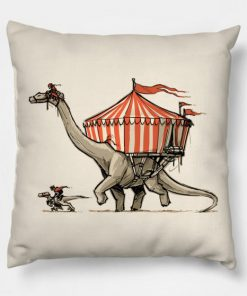 Dino Circus Pillow Case