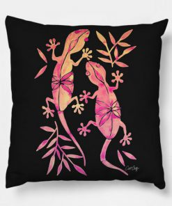 Gecko Fire Pillow Case