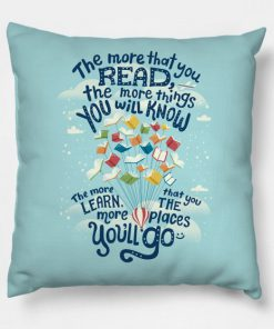 Go places Books Pillow Case