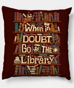 Go to the library Pillow Case