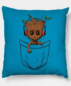 Groot In the pocket Pillow Case