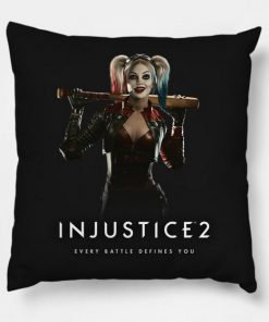 Injustice 2 Harley Quinn Pillow Case