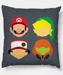 Nintendo Greats Pillow Case