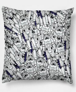 Vintage Troopers Collage Pillow Case