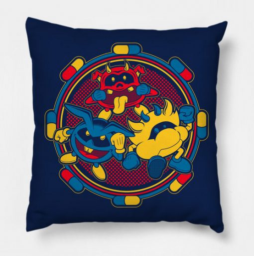 Virus Dr Mario Pillow Case