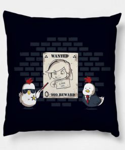 Wanted Zelda Pillow Case