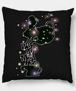 We All Mad Here Alice Pillow Case