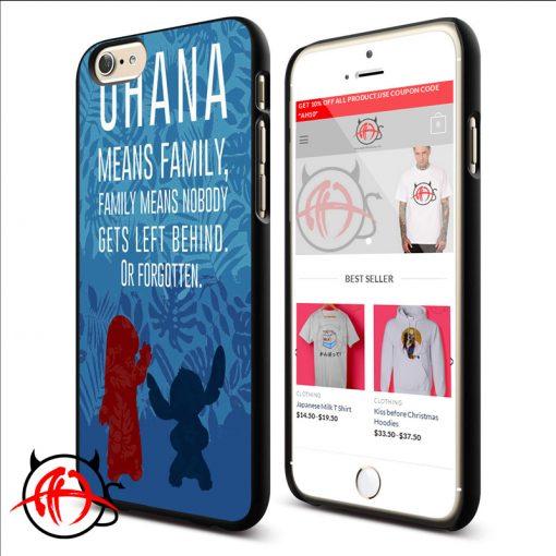 Ohana Quotes Phone Cases Trend
