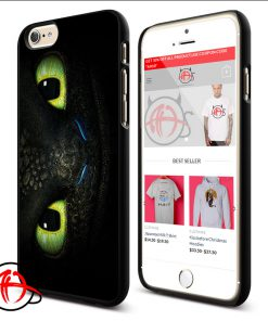 Toothless Dragon Eye Phone Cases Trend