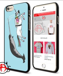 Unicorn Swim With Narwal Phone Cases Trend
