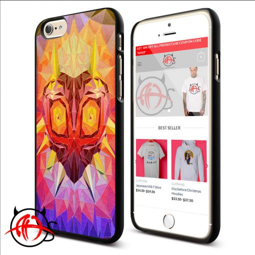 Zelda MAjoras Mask Colorfu Phone Cases Trend