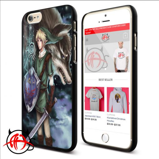 Zelda And Wolf Phone Cases Trend
