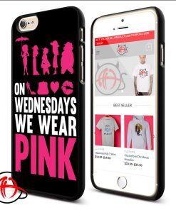 Wednesdays We Wear Pink Phone Cases Trend