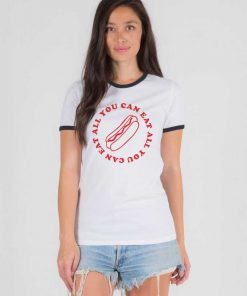 All You Can Eat Ringer Tee