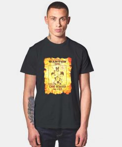 Marvel Deadpool Wanted Poster T Shirt