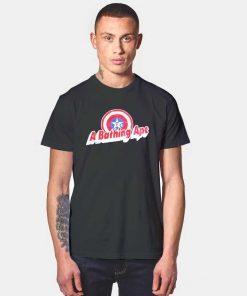 A Bathing Ape Bape X Captain America T Shirt