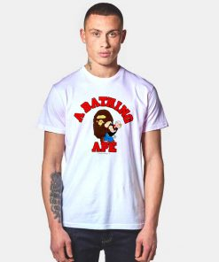 A Bathing Ape Bape X Popeye Collab T Shirt