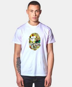 A Bathing Ape Bape X Popeye T Shirt