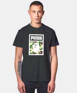 A Bathing Ape Bape X Puma T Shirt
